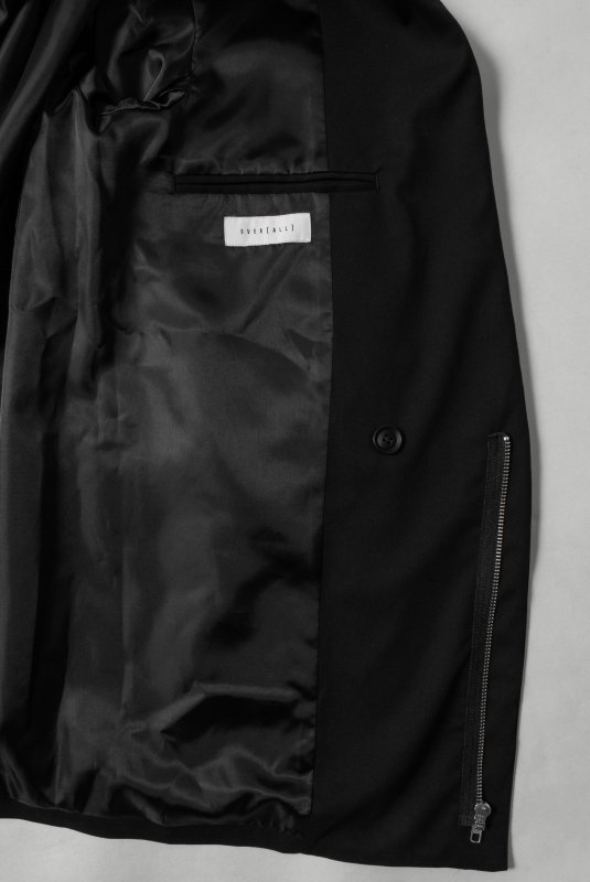 """License to WILL"" Jacket BLACK"