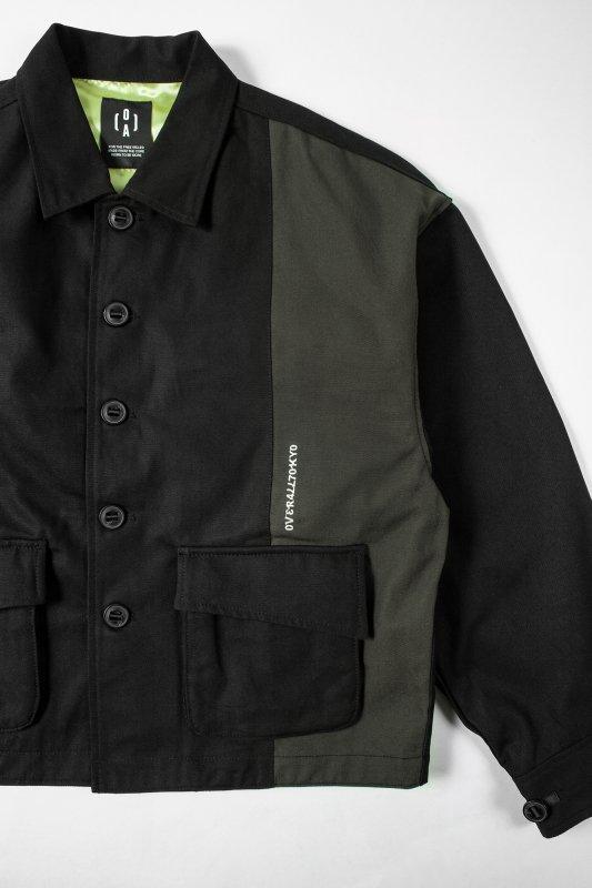 """""""HUMANITY"""" Oversize Jacket  BLACK"""