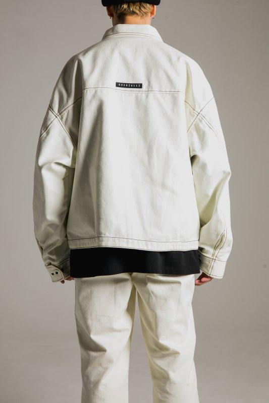 """""""HUMANITY"""" Oversize Jacket WHITE"""