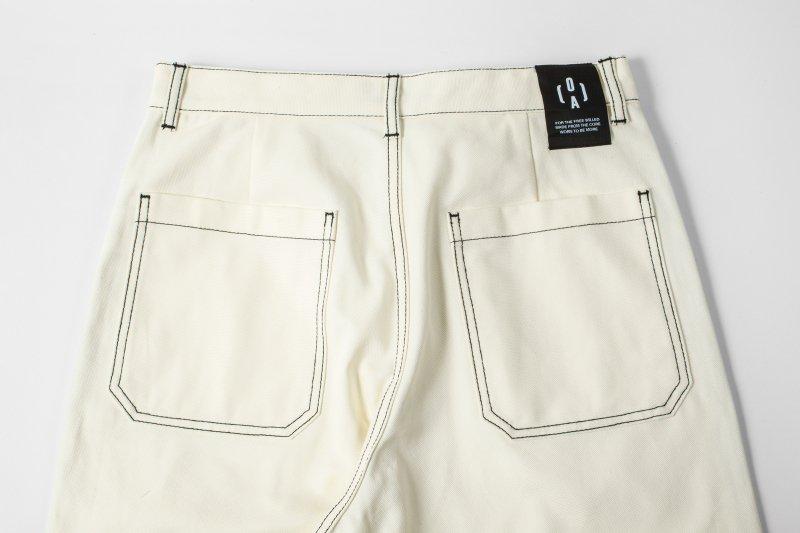 """HUMANITY"" Pants WHITE"