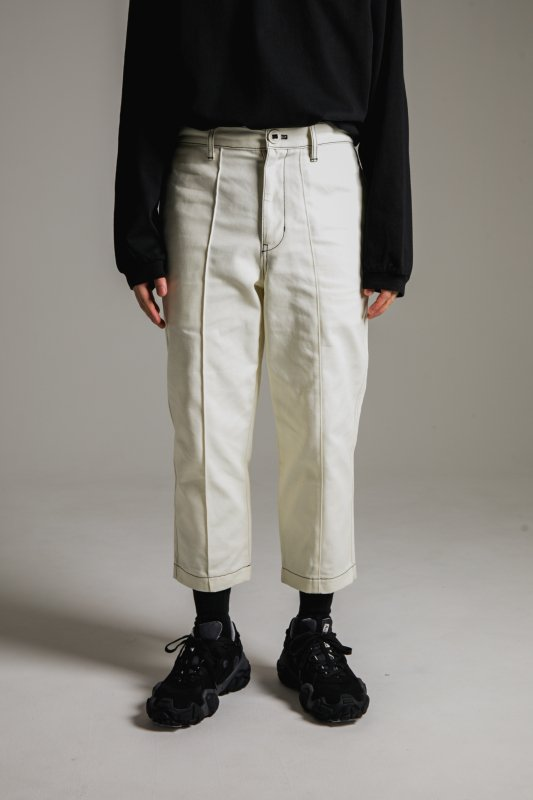 """HUMANITY"" Pants WHITE"