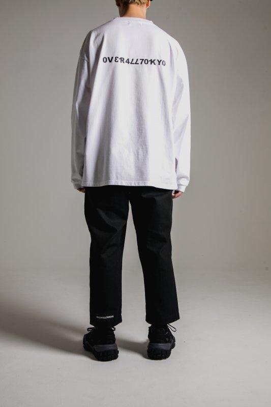 """NU-STANDARD"" Oversize Long sleeve WHITE"