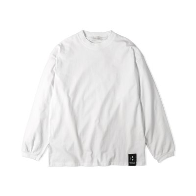 """NU-STANDARD"" Oversize Long sleeve WHITE"