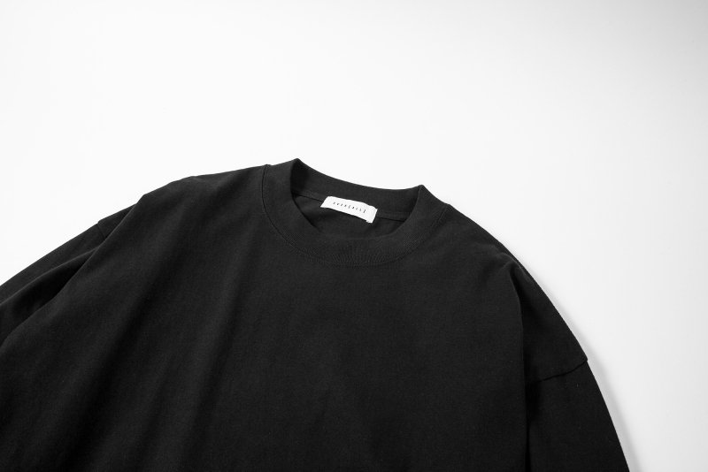 """NU-STANDARD"" Oversize Long sleeve BLACK"
