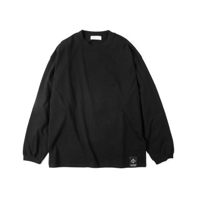 """NU-STANDARD"" Oversize Long sleeve BLACK"
