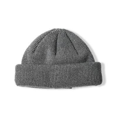 """NU-STANDARD"" Knit cap CHARCOAL"