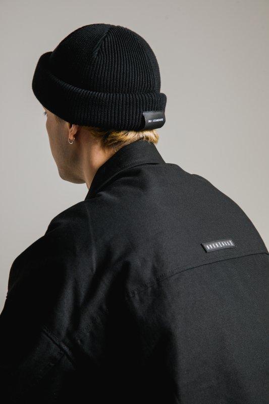 """NU-STANDARD"" Knit cap BLACK"