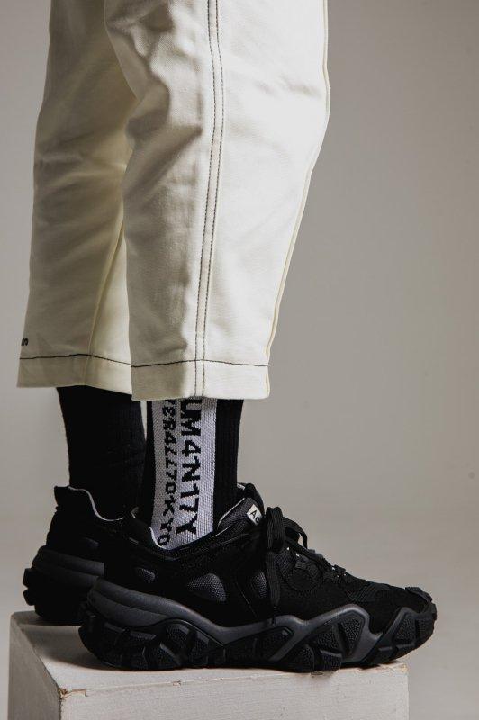 """""""HUMANITY"""" Socks BLACK"""