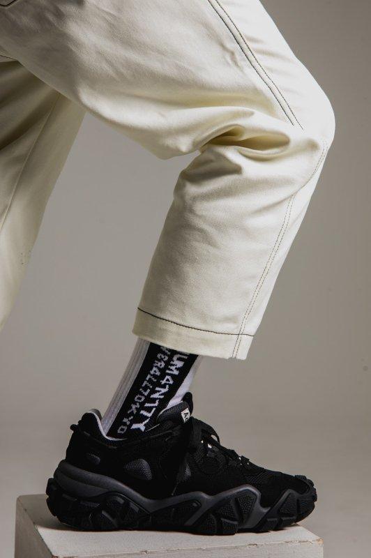 """HUMANITY"" Socks WHITE"