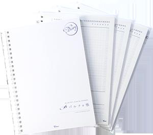 送料無料 カスタムダイアリーにフリーデイリーレフィルが3冊セット!1年間使えるフル版