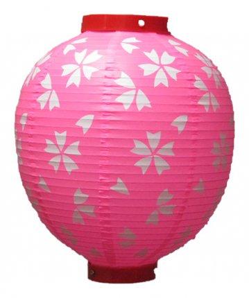 丸形提灯(和紙)尺丸(φ28×33cm)