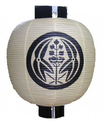 丸形提灯(和紙)尺六丸(φ42×53cm)