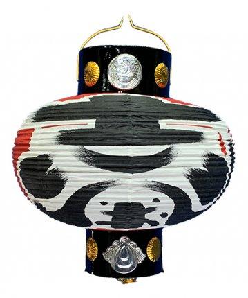 かぶら型提灯(和紙)六寸カンス(φ17×21cm)