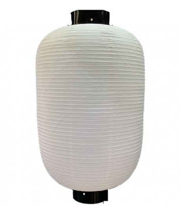 長型提灯(ビニール)2尺5寸長(75×131cm)