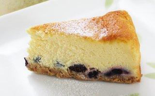 ブルーベリーチーズケーキ 大サイズ 直径18cm