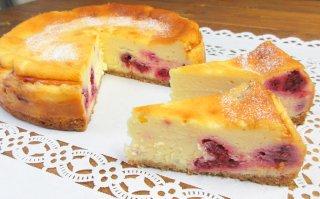 【季節限定】ラズベリーのチーズケーキ 大サイズ 直径18cm