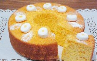 【季節限定】レモンのシフォンケーキ 大サイズ 直径20cm