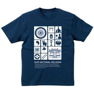 神社ピクトグラム Tシャツ