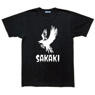 SAKAKI 八咫烏ロゴ 国産Tシャツ<img class='new_mark_img2' src='https://img.shop-pro.jp/img/new/icons61.gif' style='border:none;display:inline;margin:0px;padding:0px;width:auto;' />