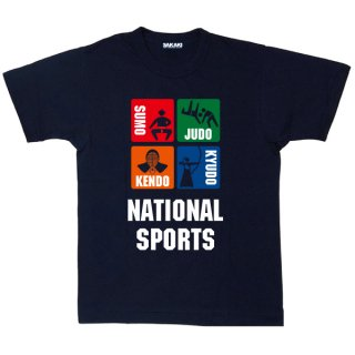 NATIONAL SPORTS 国産Tシャツ<img class='new_mark_img2' src='https://img.shop-pro.jp/img/new/icons61.gif' style='border:none;display:inline;margin:0px;padding:0px;width:auto;' />