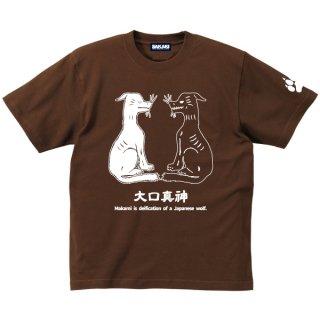 日本狼 Tシャツ