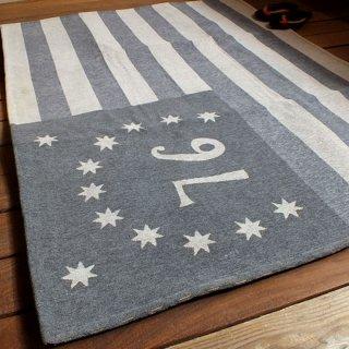 76星条旗 ベニントンフラッグ柄 ハーフラグマット