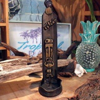 ハワイ ティキ お香立て BAMBOOインセンスバーナースタンド Mystical Treasure TIKI