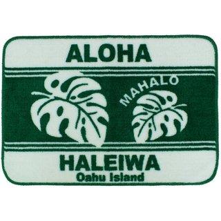 インテリアマット モンステラ ALOHA HALEIWA