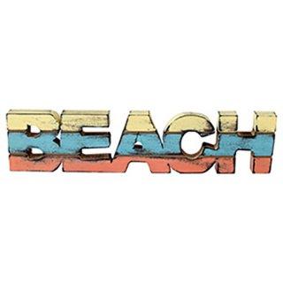 マリン メッセージウッドスタンド ストライプロゴ ビーチ BEACH STRIPE LOGO YE/BL/OR