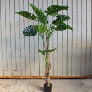 【同梱不可】モンステラ(観葉植物)フェイクグリーン Large size
