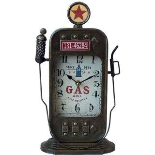 アンティーククロック GAS ガスポンプ型