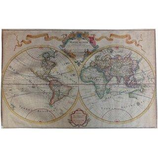 ヴィンテージマップ(世界地図) 52574
