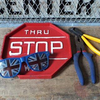 サインデコトレイ STOP RED(標識トレイ)