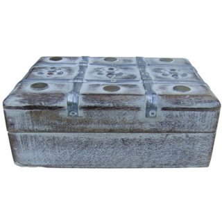 アンティーク ウッドディスプレイボックス