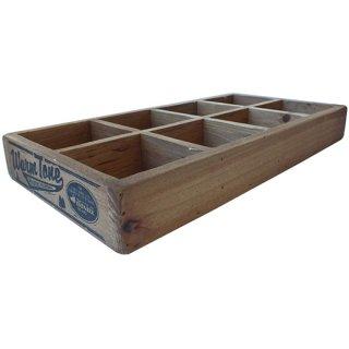 ダルトン 8 パーテーション ウッドボックス(木箱) ナチュラル DULTON 8 PARTITION WOODEN BOX