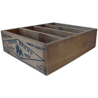 ダルトン ウッドポストカードボックス (木箱) ナチュラル DULTON WOODEN BOX FOR POSTCARDS