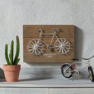 コットンサイクルプレート/自転車シルエット