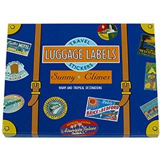 トラベルステッカー Luggage Labels Sunny Climes
