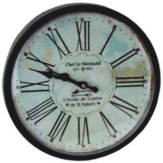 アンティーク ウォールクロックM 壁掛け時計 14-14BK