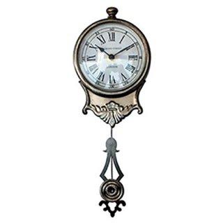 アンティークシルバークロック(振り子時計)BR-30