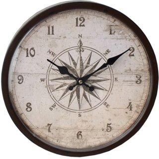 アンティーク ウォールクロックM 壁掛け時計 14-14BR