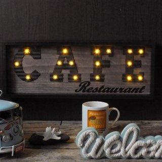 マーキーライト フレーム カフェサイン MARQUEE LIGHT FRAME CAFE
