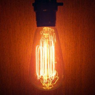 エジソンランプ 60W 白熱電球E26