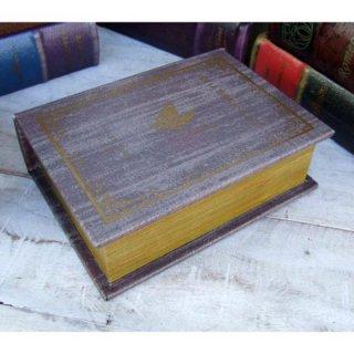 ヴィンテージ風辞書型シークレットボックス 「DE LA TERRE A LA LUNE(月世界旅行)」(GD5645)