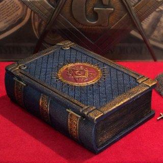 フリーメーソンシンボル ブックボックス/本型収納箱 Masonic Symbol Book Box