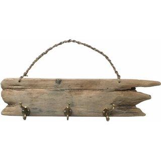ドリフトウッド ハンガーフック・ブラス(真鍮) 流木/海の木