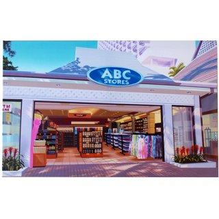 ハワイアン キャンバスアートピクチャー 栗山義勝氏作 HAWAII ABC STORE