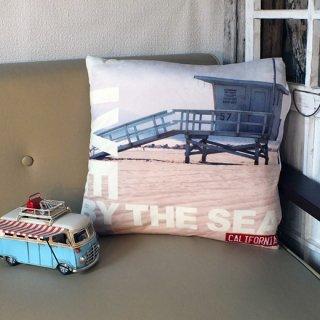 カリフォルニアスタイル プリントクッション ライフガード Lifeguard