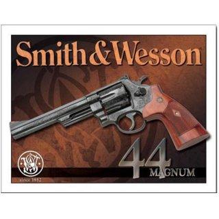 スミス&ウェッソン ティンサイン S&W-44 Magnum Tin Sign