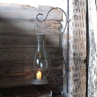 【同梱不可】ラウンデッドシャビーランプ Vintage like LAMP
